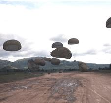 C130 Supplies Drop to Special Forces