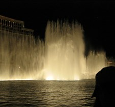 Bellagio water and light show