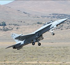 F/A-18e Super Hornet Taking Off
