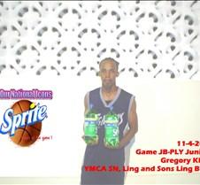 1142008 Game JB-PLY Juniors Gregory Klin