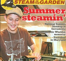 Steam in the Garden Magazine Cover #118