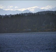 Olympic Mountains Near Port Angeles
