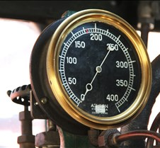 Steam Pressure Gauge on #34