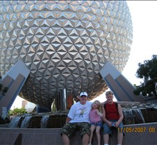 Kids at Epcot