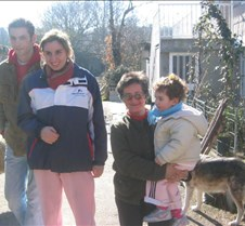 Javier,Cuty,paisana y Laura