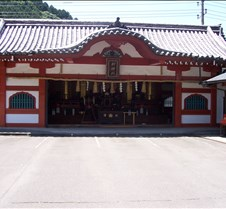 Temple at base of Mt. Takao