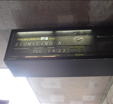 Termini Station Sign