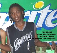 10252008 Game JB-PLY Juniors Nicauris To