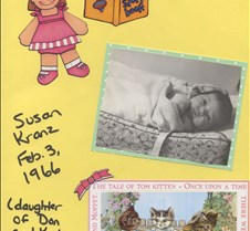 Susan Kranz baby pic
