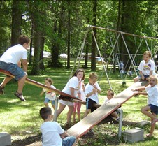 2007 VBS closing program and picnic 010