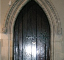 Doorway in St Pats