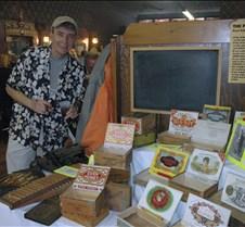 John Karl & cigar  boxes
