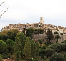 Saint Paul Village, South of France