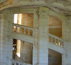 Chambord - Double Staircase
