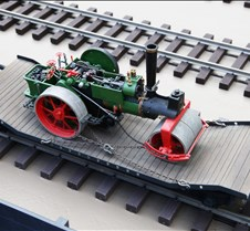 Rob Meadows' Flat Car with Steam Roller