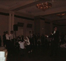 Ed throwing garter