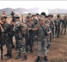 South Vietnamese Mountainyard  troops