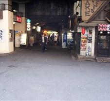 Tokyo side street alley