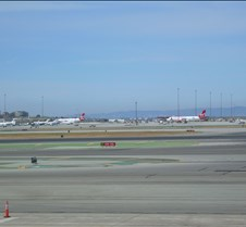 Virgin America Planes at SFO
