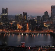 Pittsburgh Dawn Panorama