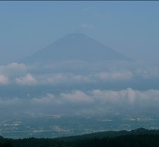 Mt. Fuji on a clear day