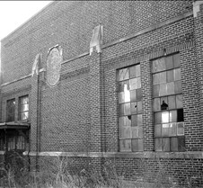 Boiler Building Outside B&W