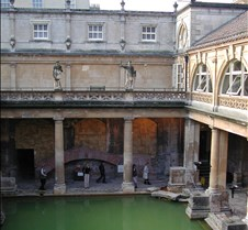 Roman Bath from street level