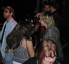 "2002-04-07 Happening Harry preshow and All-Star jam Happenin' Harry, Ray Luzier, Billy Sheehan, Russ Parrish, Ty Longley and others join in this ""all star jam"" after the The Ducks played the Hollywood Cat Club"