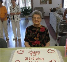 Grandma-Great 93rd birthday