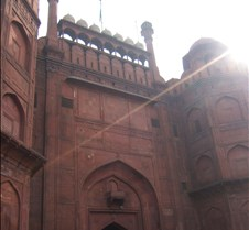 Entrance to Red Fort