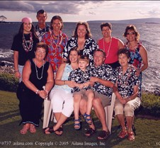 Wailea Marriott Luau - Maui Crowd 2005