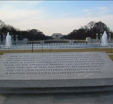 WWII Memorial Inscription