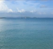 Francis Bay beach on St John