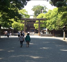 Mejii shrine entrance