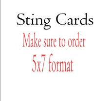 StingCards Sting Cards each Photo Makes Two Cards