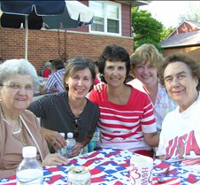 Helen, Sharon, Sandy, Barb, Jean