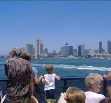 Trip back to Coronado on the Ferry