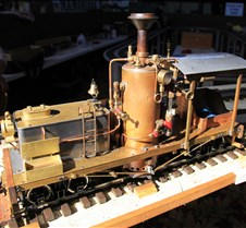 Norm Saley's Coal Fired 2 Cylinder Shay
