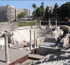 Roman Theater (Kom Al-Dikka), Alexandria