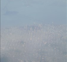 Downtown SF on Approach