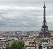 The Eiffel Tower and Paris