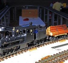 Shay Live Steam Loco With Offset Boiler