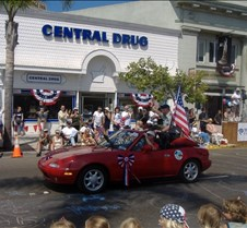 Coronado's 4th July Parade