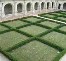 Abbaye le Fontevraud - Parterre de Clois