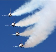 USAF Thunderbirds Stacked