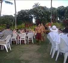 Luau in Maui -Parading of the pig