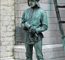 Live Man Sculpture #2