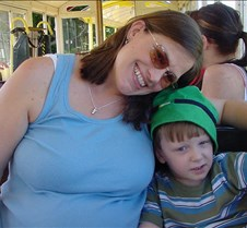 Grant and Mommy Ready to Go