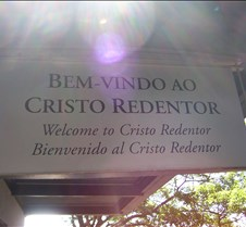 Corcovado - Welcome Sign