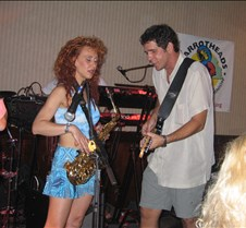 Jim Morris with special guest Amy Lee at the Best Western Battlefield Inn - Manassas, VA  - 07/02/2004 Thanks to the Parrot Heads of the Old Dominion for this great show!